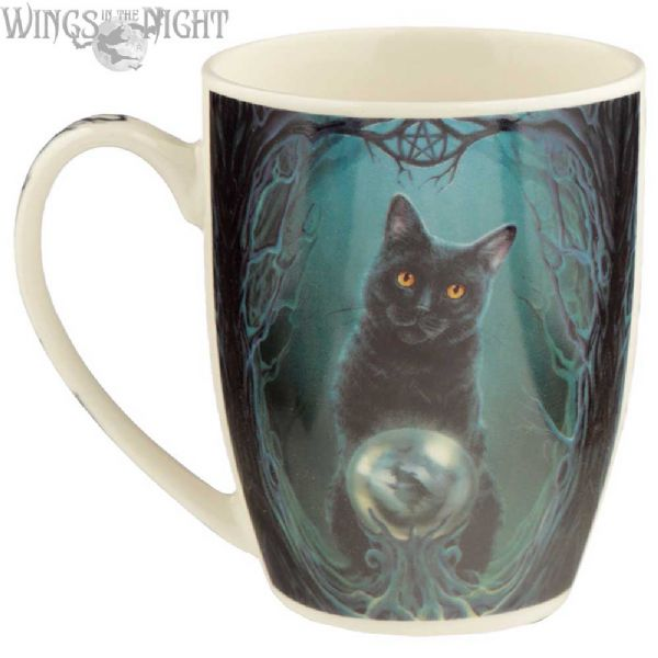 Lisa Parker RISE OF THE WITCHES Black Cat Mug